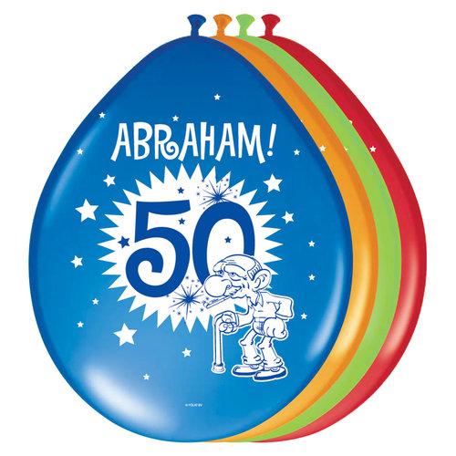 Ballons 'Abraham'  per 8 st. ass kl