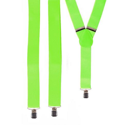 Bretellen fluo groen