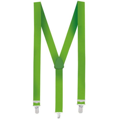Bretellen neon groen