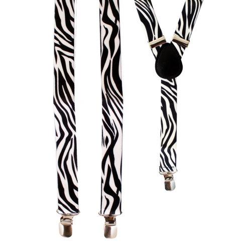Bretellen zebraprint