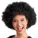 Afro pruik oversize zwart DOOS 194