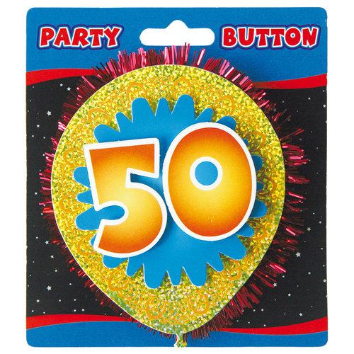 3D Button '50 jaar'