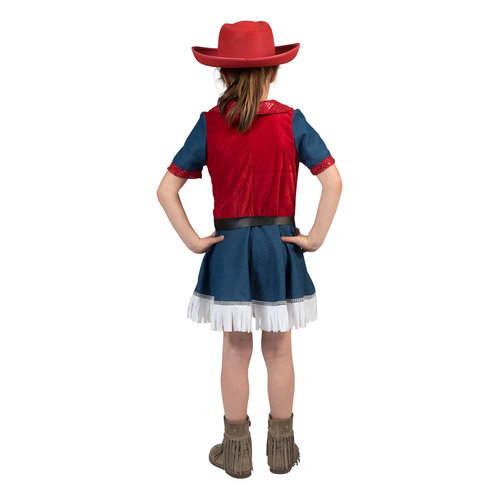 Funny Fashion Cowboy kleedje Jeans Girl