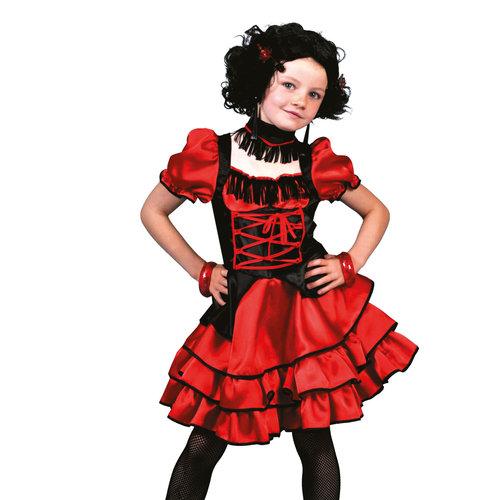 Funny Fashion Can Can kleedje meisje