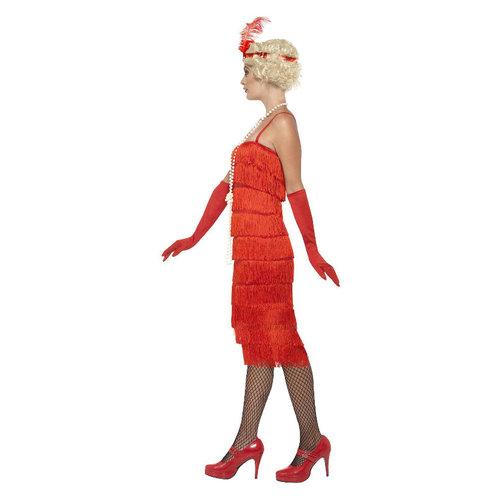 Smiffys Charleston dame Rood