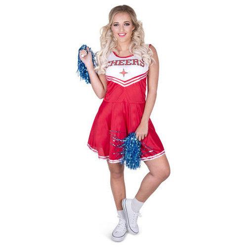 Cheerleader rood