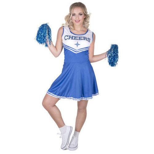 Cheerleader blue