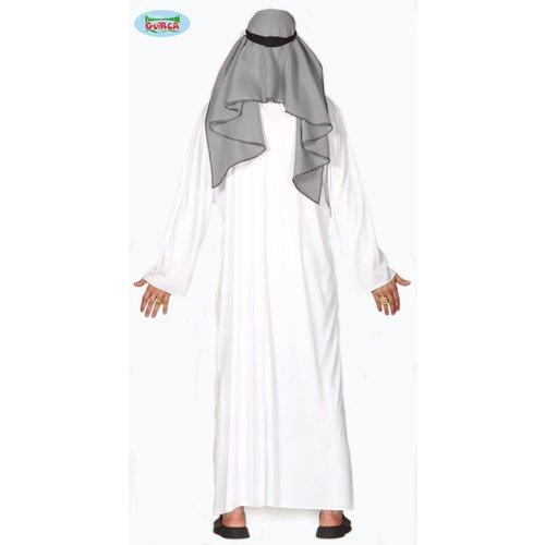 Fiestas Guirca Arabier kostuum wit