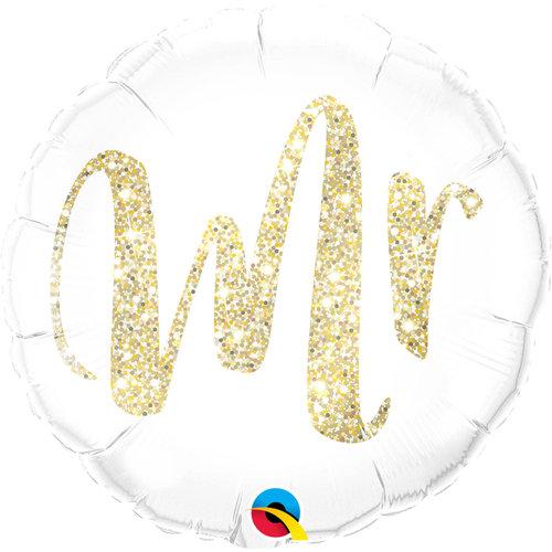Folat Folie ballon Bruiloft Mr  46cm