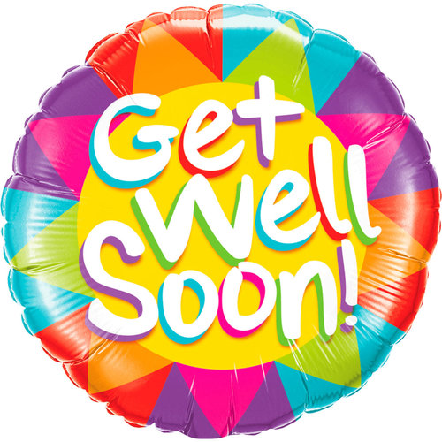 Folat Folie ballon Get Well Soon  46cm