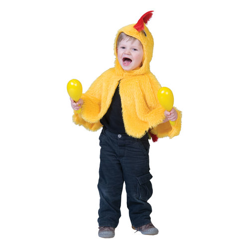 Funny Fashion Baby cape kuikentje/kip