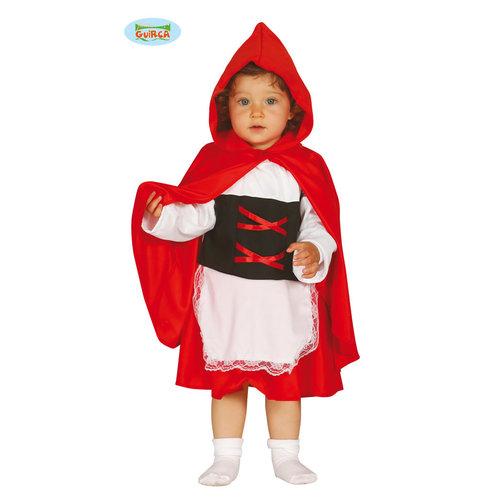 Fiestas Guirca Baby kleedje met rode kap