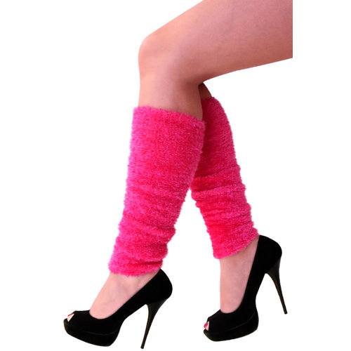 PartyXplosion Beenwarmers pluche roze