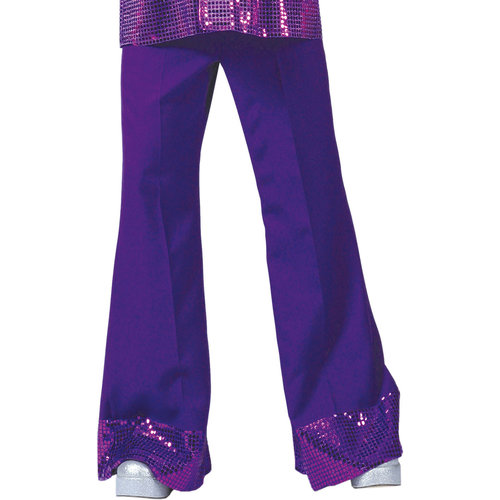 Funny Fashion Broek Flare Disco 70's