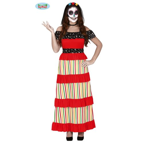 Fiestas Guirca Day of the dead kleed dames