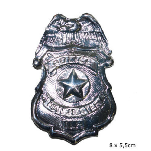 Funny Fashion Badge Politie