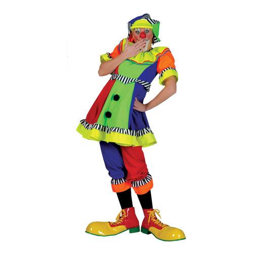 Funny Fashion Clown dame met pet