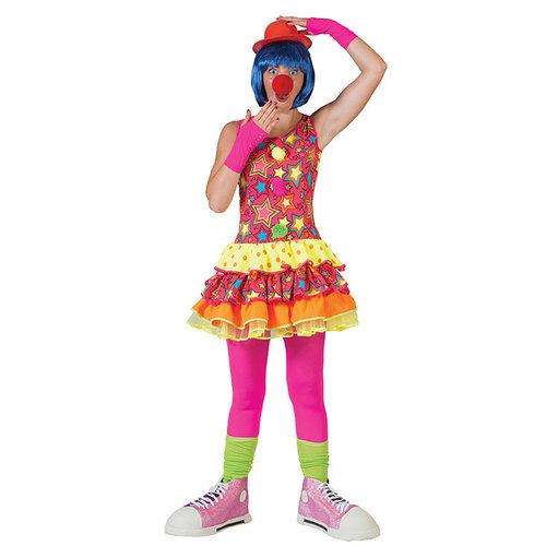 Funny Fashion Clown Sparkling Star