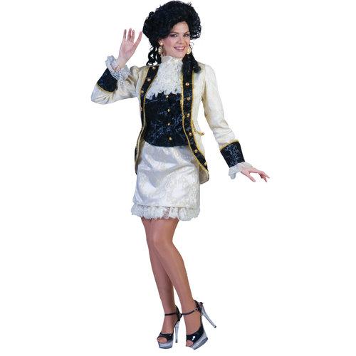 Funny Fashion Barok ecru dame
