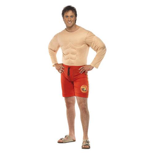 Smiffys Baywatch muscle lifeguard