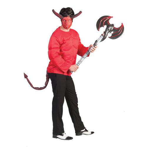 Devil Spierbundel shirt rood,one size