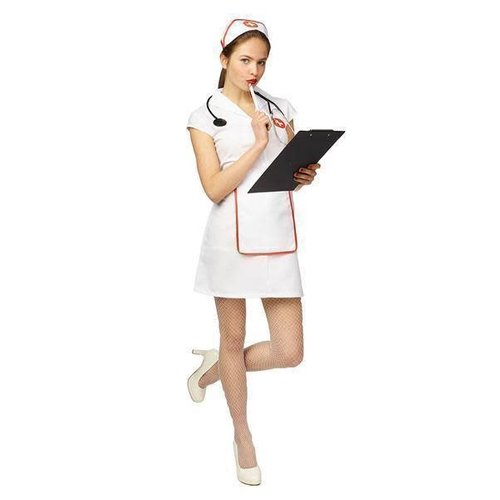 PartyLine Verpleegsterkleedje kort