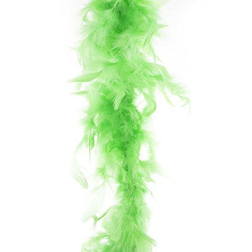 Funny Fashion Boa fluo groen, 45gr