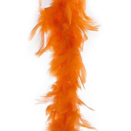 Funny Fashion Boa fluo oranje, 45gr