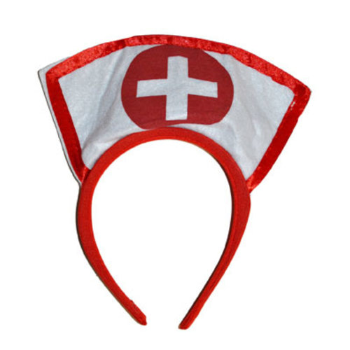Funny Fashion Diadeem Verpleegster