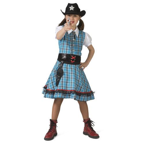 Funny Fashion Cowgirl Blue Bird