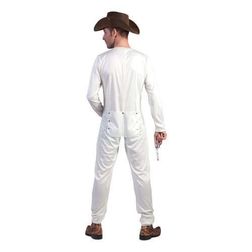 Funny Fashion Cowboy ondergoed wit