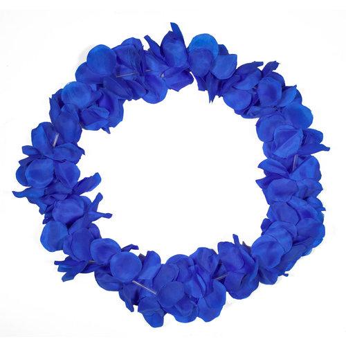 Hawaïkrans neon Blauw