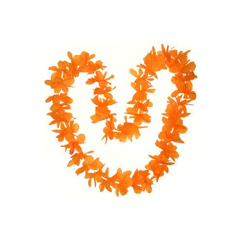 PartyXplosion Hawaislinger populaire oranje