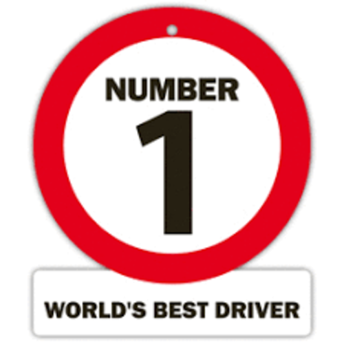Bordje Watch Out 'Number 1, best driver'