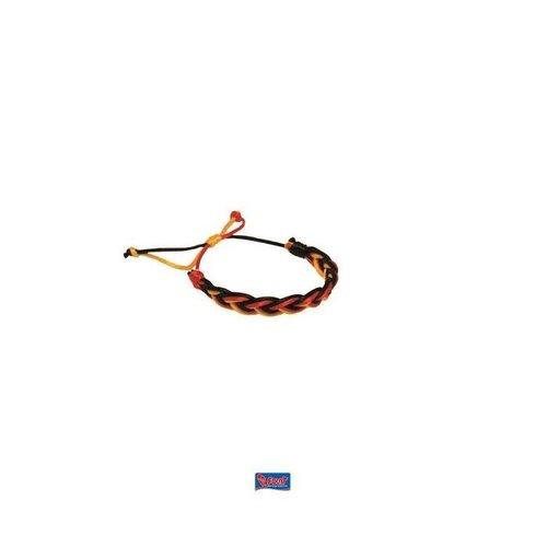 Armbandje 'België' gevlochten