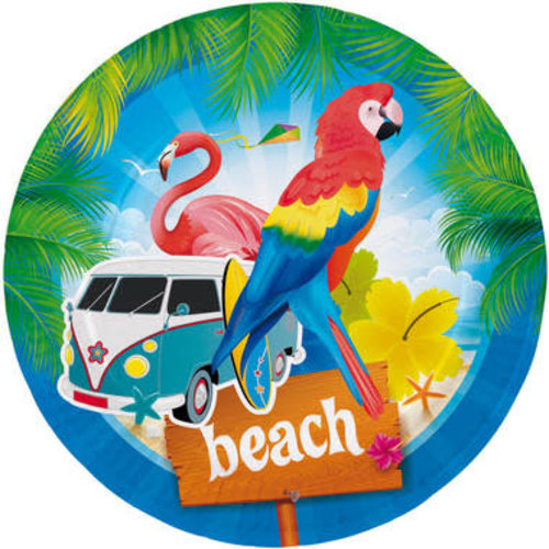 Borden Beach karton 23cm per 12st