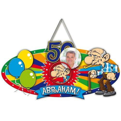 Deurbord 3D 'Abraham'