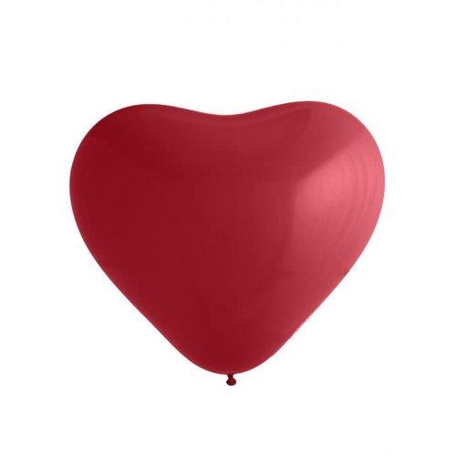 Ballon 'Hart' rood, 92cm XL