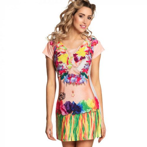Boland Fotorealistische jurk Beach babe