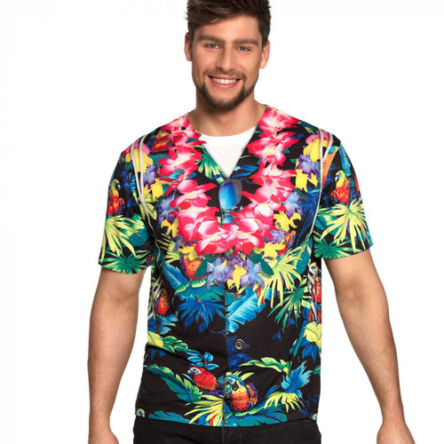 Boland Fotorealistisch t-shirt Beachboy