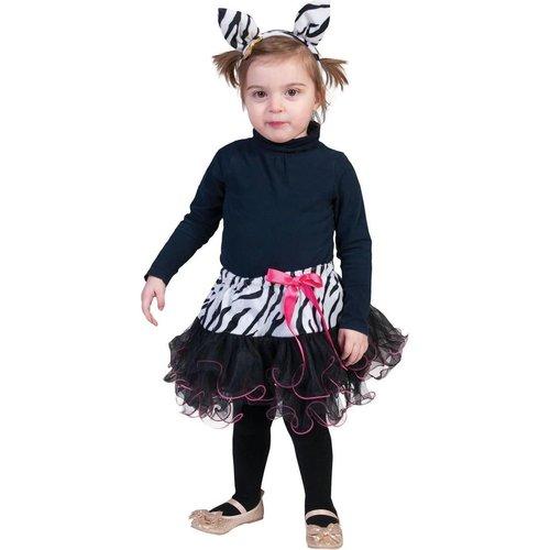 Funny Fashion Baby zebra rokje