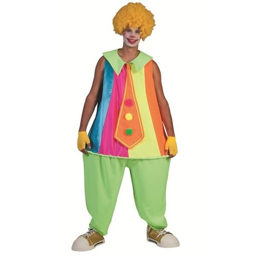 Funny Fashion Clown Silly Billy met hoepel