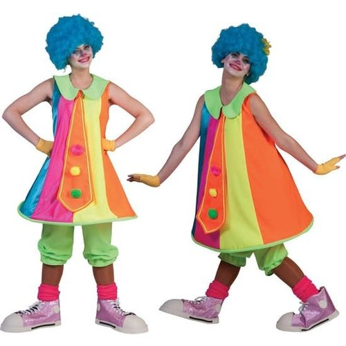 Funny Fashion Clown Silly Billy Hoop dame