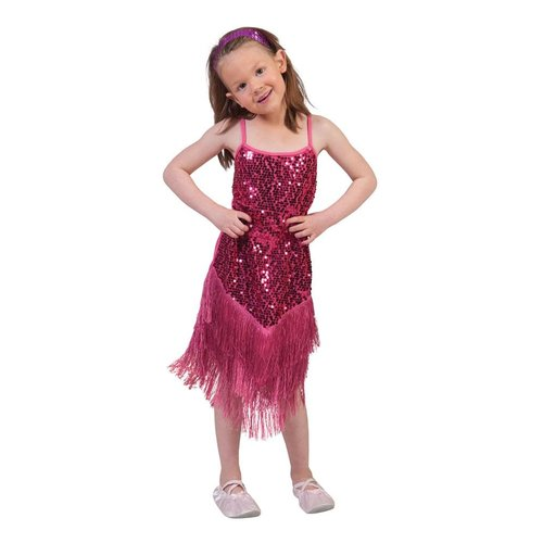 Funny Fashion Charleston Fringie Flapper glitter