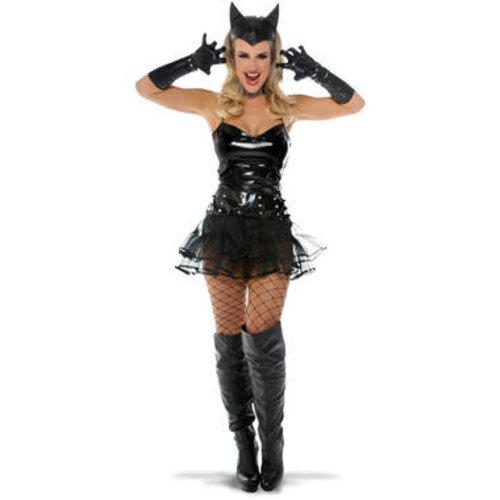 Cat girl sexy zwart