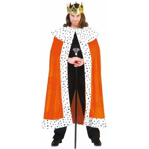 Funny Fashion Cape King oranje
