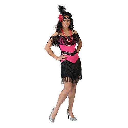 Funny Fashion Charleston Fuchsia roze