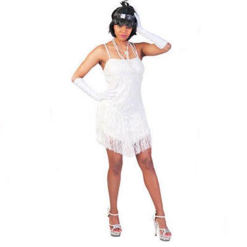 Funny Fashion Charleston dame Fringie Flapper glitter wit