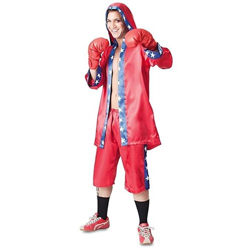 Fyasa Boxer rood/blauw