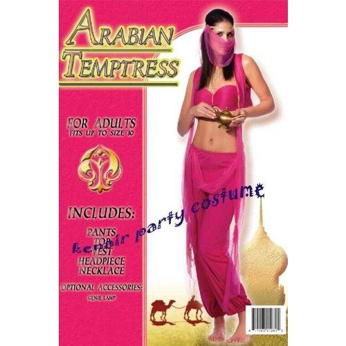 Arabische danseres paars